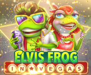 Elvis Frog in Vegas